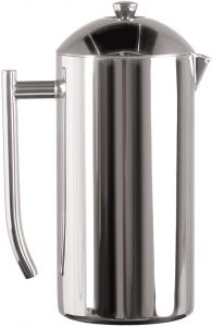 Frieling USA Double-Walled Stainless-Steel French Press Coffee Maker